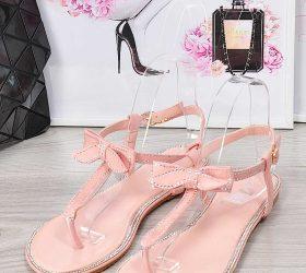 sandały damskie płaskie