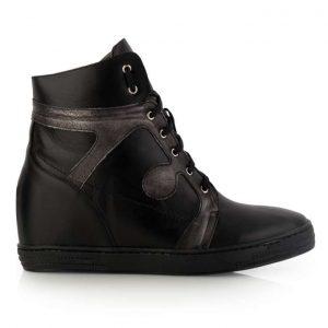 czarne buty sneakersy